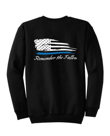 Remember the Fallen - Crewneck PC78 Black - Front