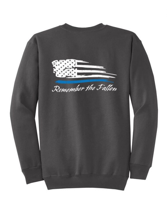 Remember the Fallen - Crewneck PC78 Charcoal - Front